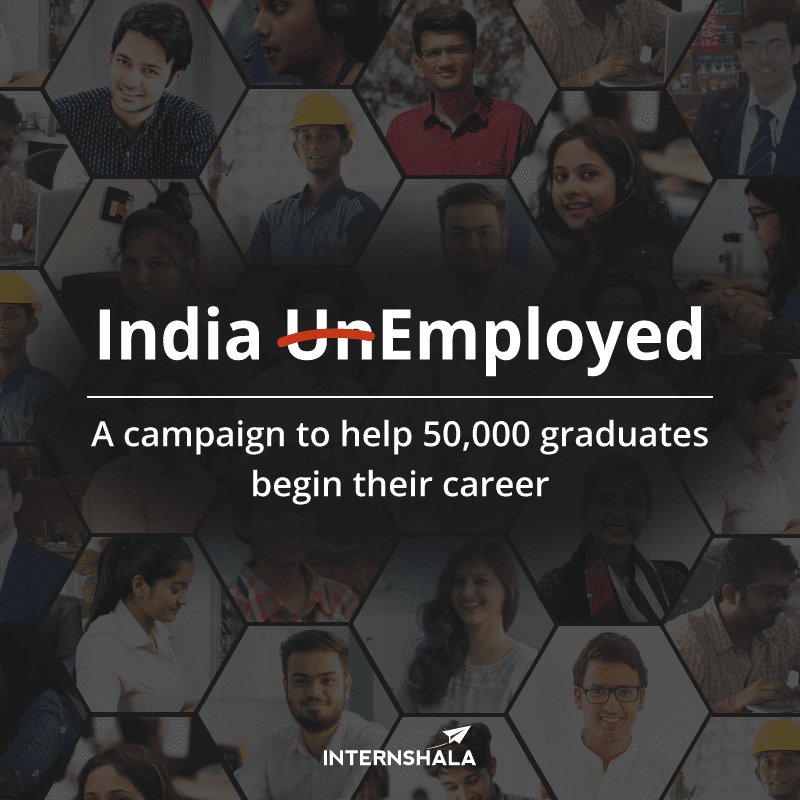 Internshala launches India Employed – An initiative to help 50,000 graduates find their first job