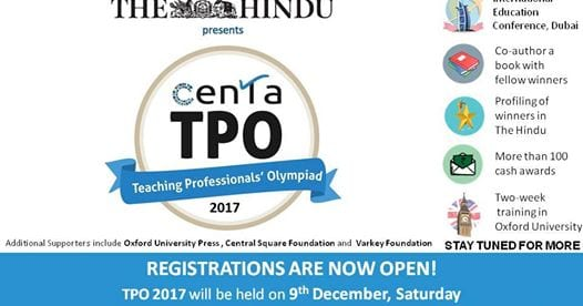 Oxford University Press partners with CENTA for the Teaching Professionals' Olympiad