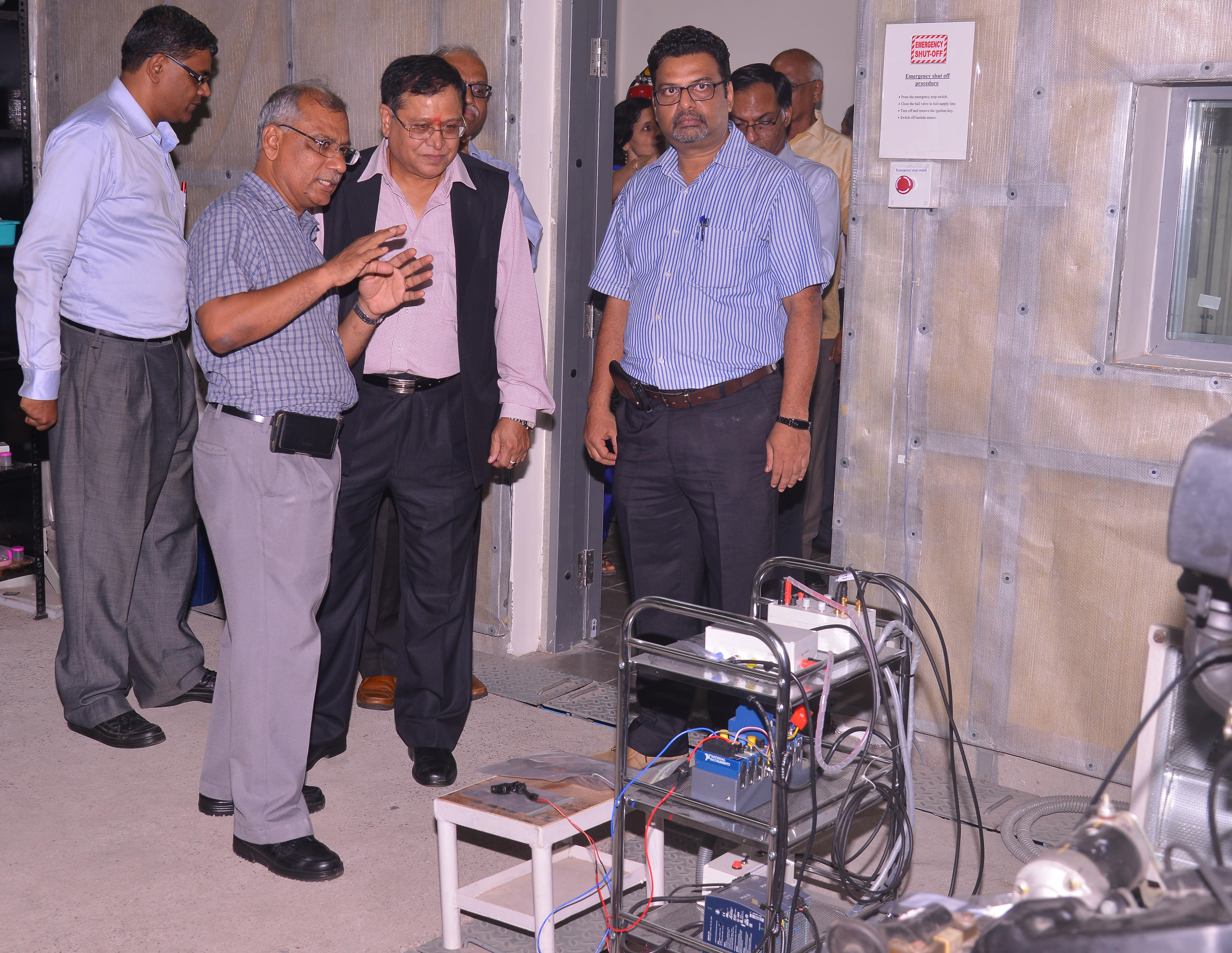 The world's largest combustion research centre established at IIT Madras
