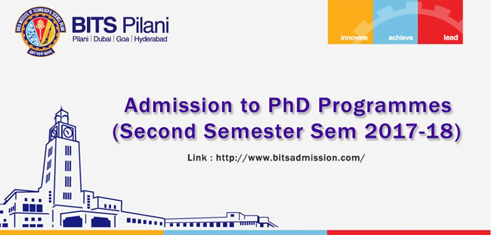 Find the latest list of more than 25 universities where PhD Admission open