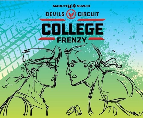 Volano - India's leading participative sports firm presents Maruti Suzuki devils circuit college frenzy season I