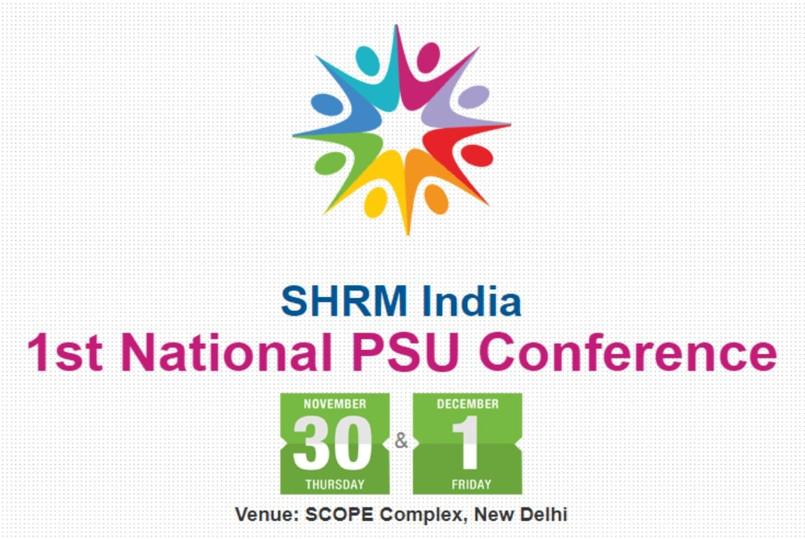 SHRM India to organize 1st HR focused National PSU Conference