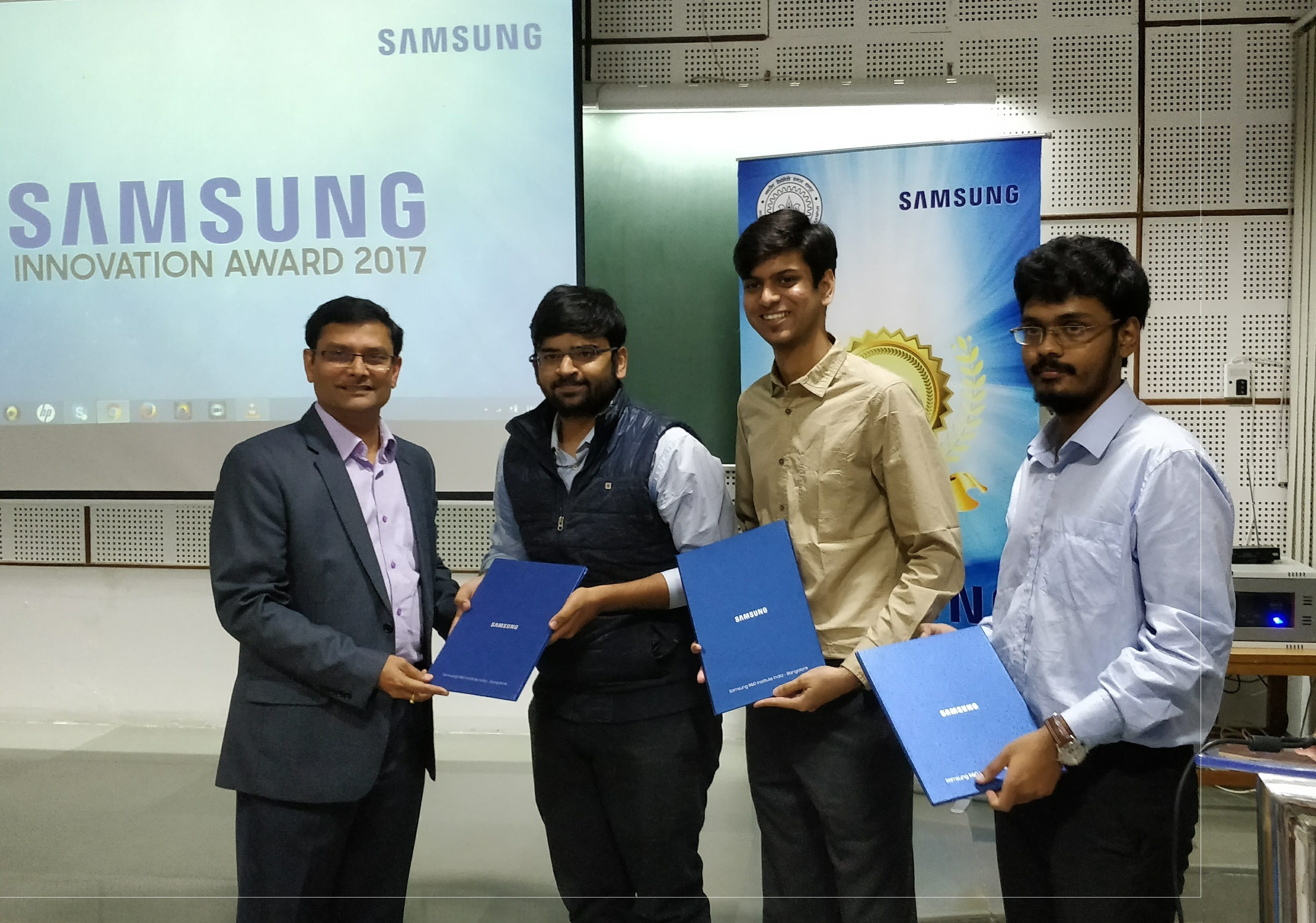 Samsung Innovation Awards 2017 Held at IIT Kanpur