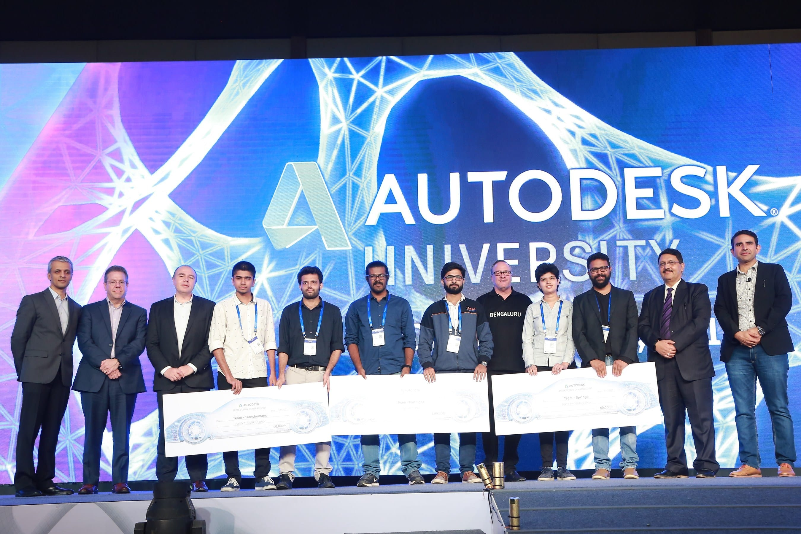 Winners of India Design Challenge announced at Autodesk University, Bengaluru 2017