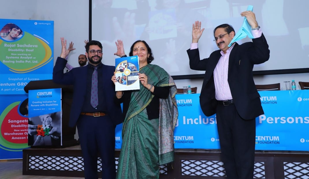 Centum Foundation unveils a report on 'Working experiences of Deaf Employees in India'