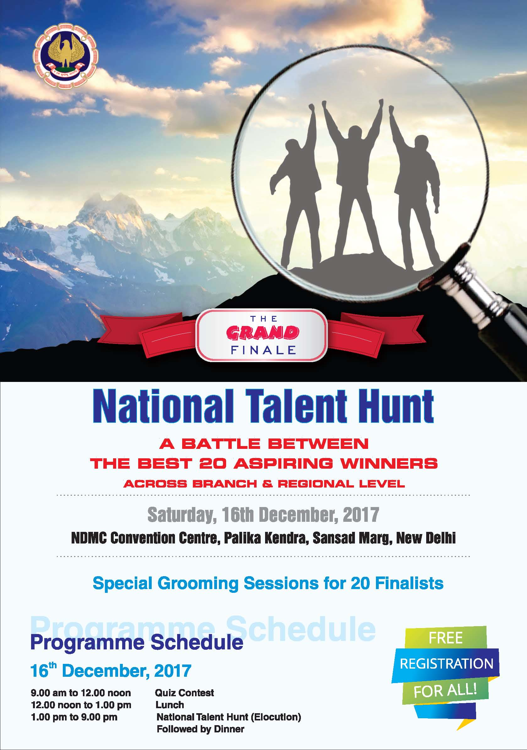 20 Budding Accountants qualify for Grand Finale of National Talent Hunt organized by ICAI