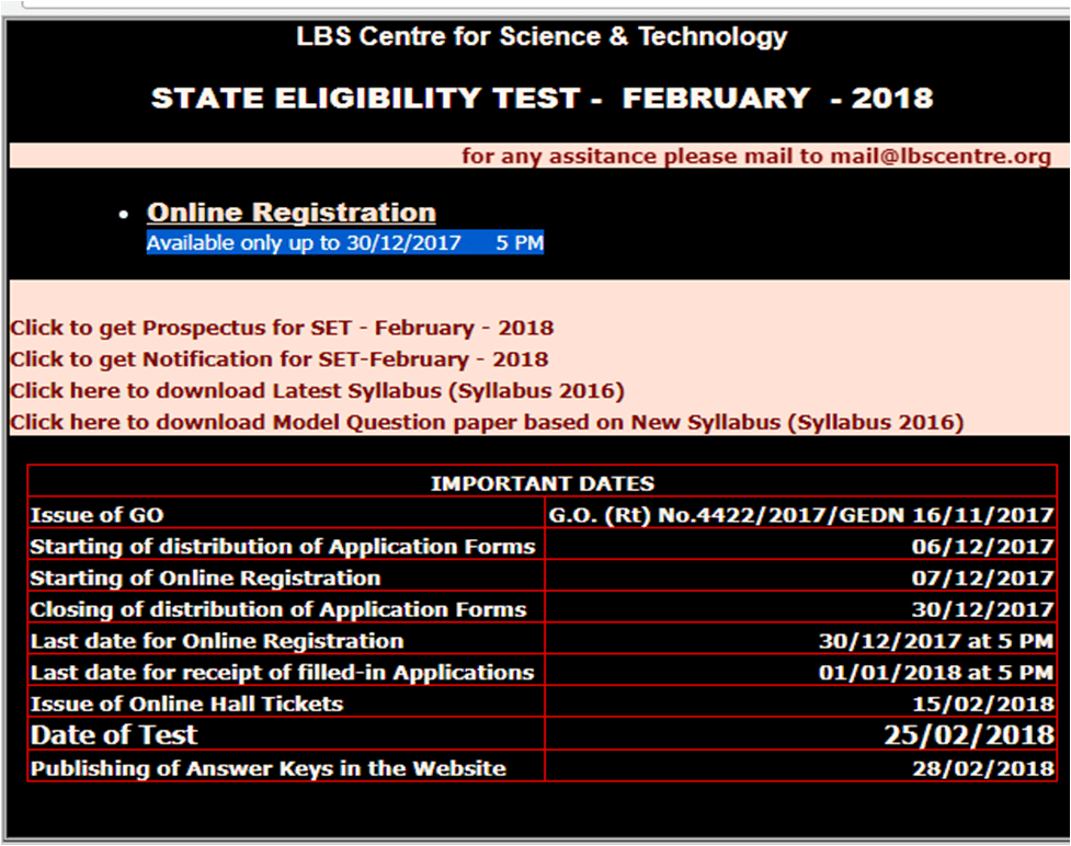 Kerala State Eligibility Test (KSET) 2018 notification out ! Apply now