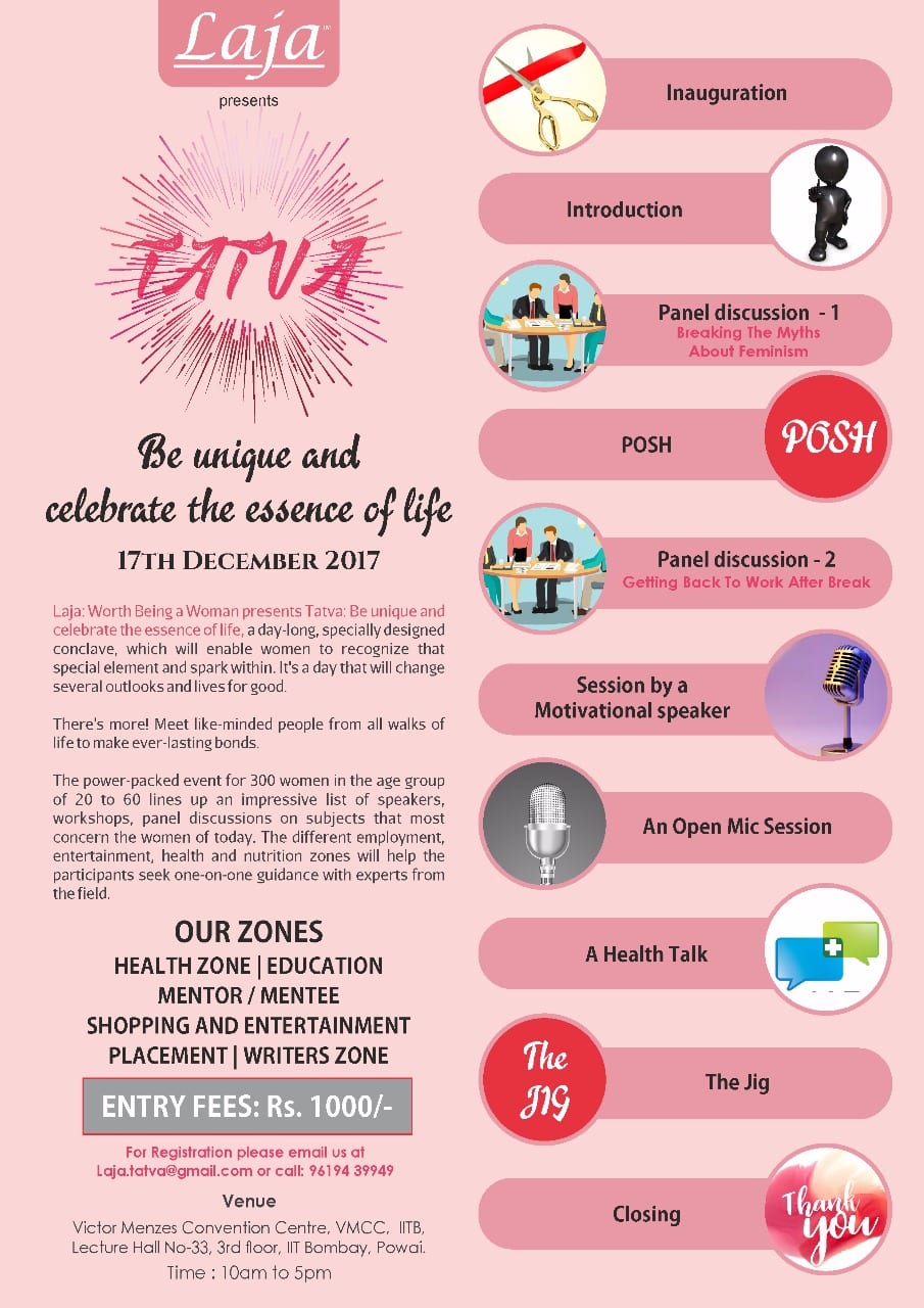 TATVA women entrepreneurship & Mentor programme on 17 Dec 2017 in Mumbai