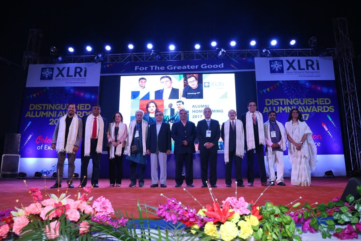 XLRI celebrates 'Annual Homecoming 2017'; Felicitates eminent Alumni at 'Distinguished Alumnus Awards'
