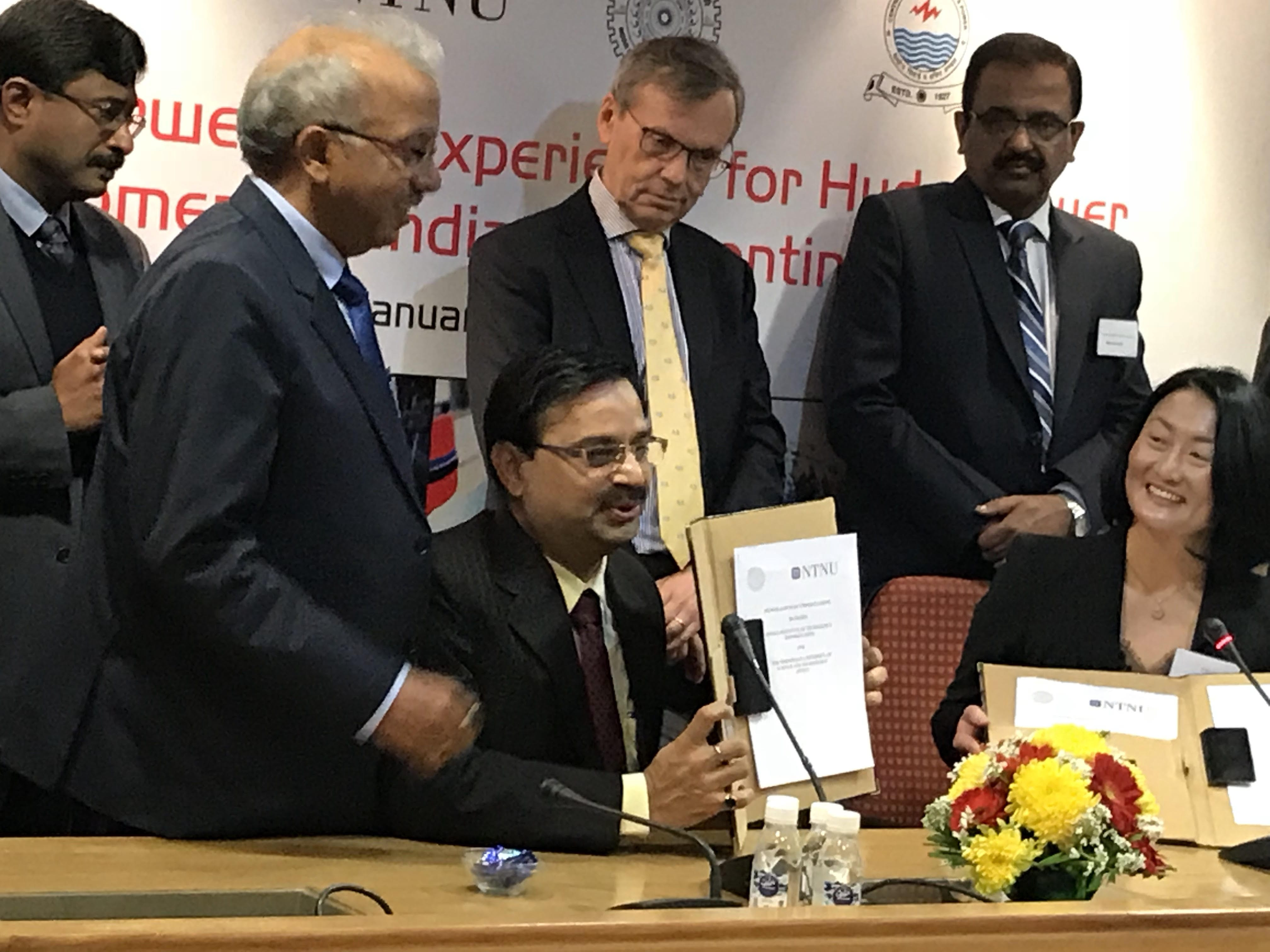 IIT Roorkee exchanged MOU with Norwegian University of Science and Technology (NTNU) of Norway for research and education