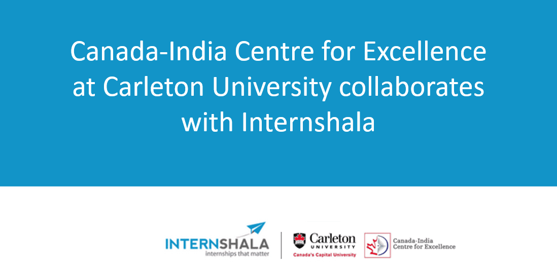 Internshala ties up with the Canada-India Centre for Excellence (CICE) at Carleton University: Internships for Indian and Canadian students