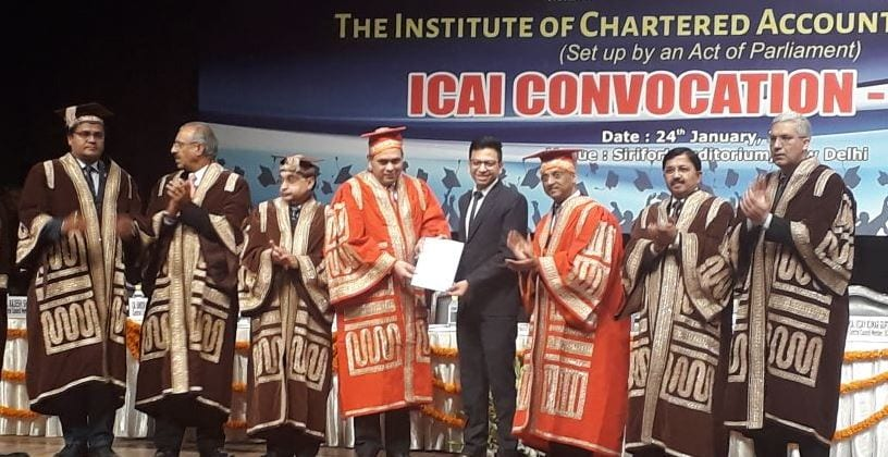 ICAI holds Annual Convocation ceremony all across the country
