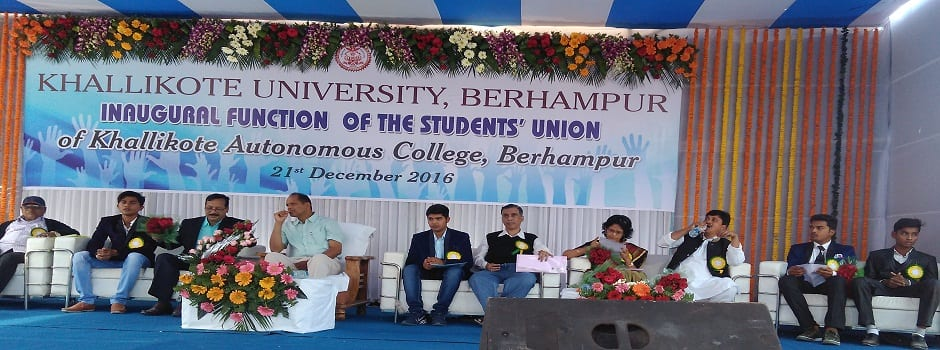 Faculty recruitment window open in Khallikote University, Berhampur