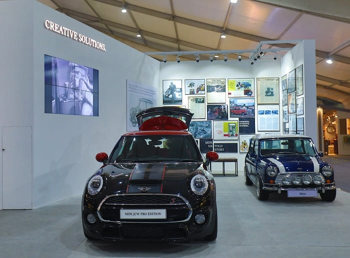 MINI Showcases MINI in Design and Creative Solutions at India Design 2018