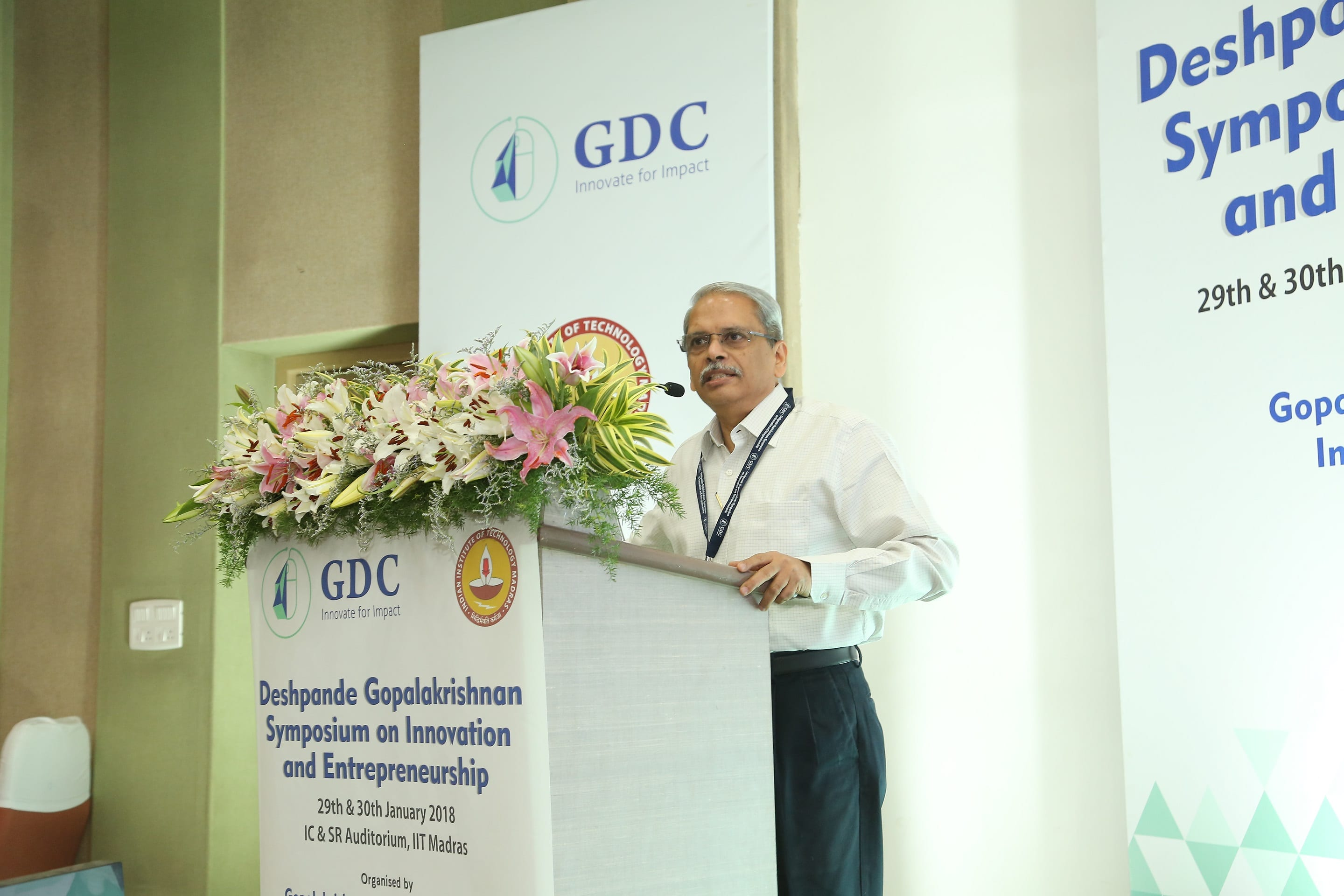 IIT Madras hosts first Deshpande-Gopalakrishnan Symposium on Innovation and Entrepreneurship