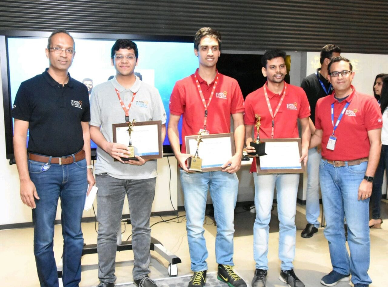 'Project Smart Eye' from students of IIT Roorkee gets recognition at the GE Digital IIOT Hackathon