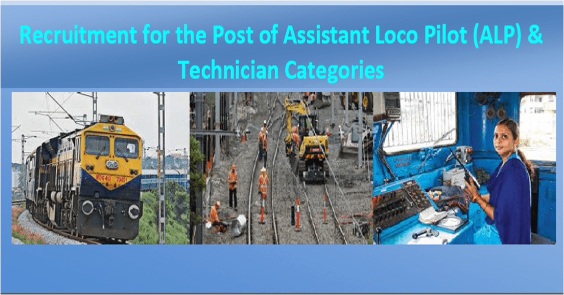 Ministry of Railways: The total vacancies of Assistant Loco Pilots & Technicians increased from 26,502 posts to about 60,000 posts