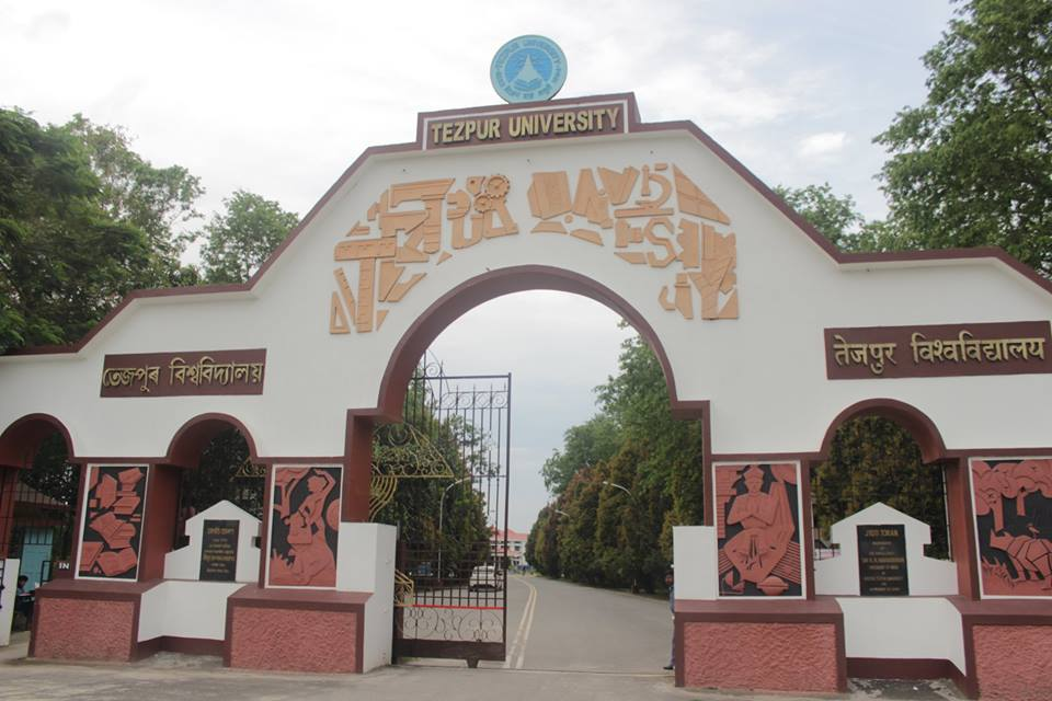 PhD Admission open for 2018-19 in Tezpur University