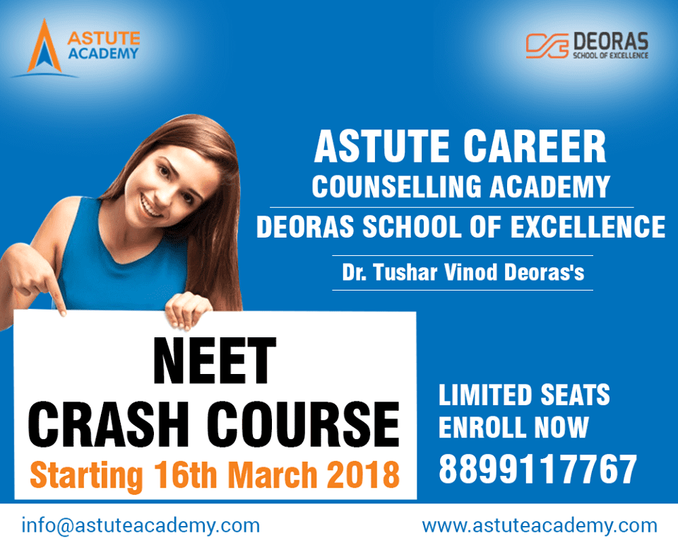 Medical Students May Face Immense Challenges With the Recent Government Order on NEET: Opines Dr. Tushar Vinod Deoras, Astute Career Counselling Academy