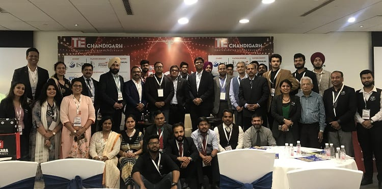 Chitkara University Showcased its Top Ten Potential Innovative Ideas at TIECON 2018