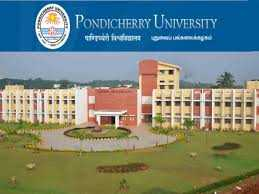 Pondicherry University admission notification 2018-19 for MA, M.Sc. MBA, MTech, PhD progarmmes