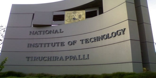 PhD admission opens in National Institute of Technology (NIT), Tiruchirappalli for July 2018 session