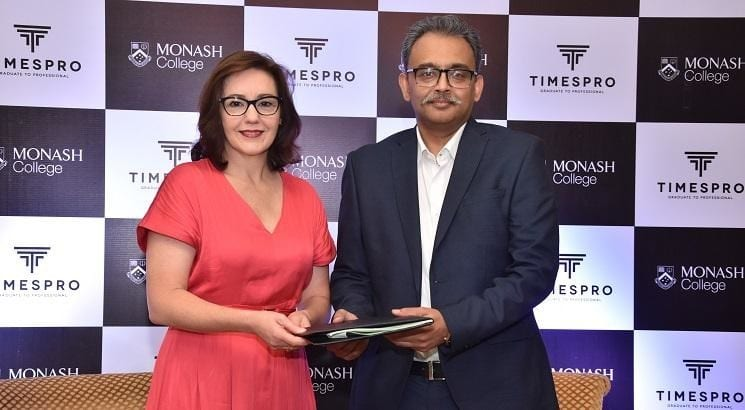 Times Pro Sign MoU With Monash College