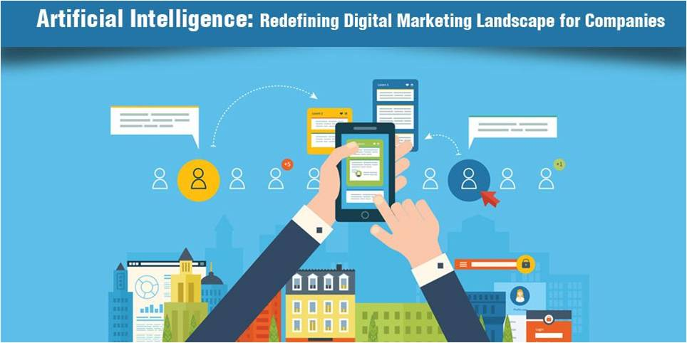 How artificial intelligence in Digital Marketing help the working professional for industrial growth?
