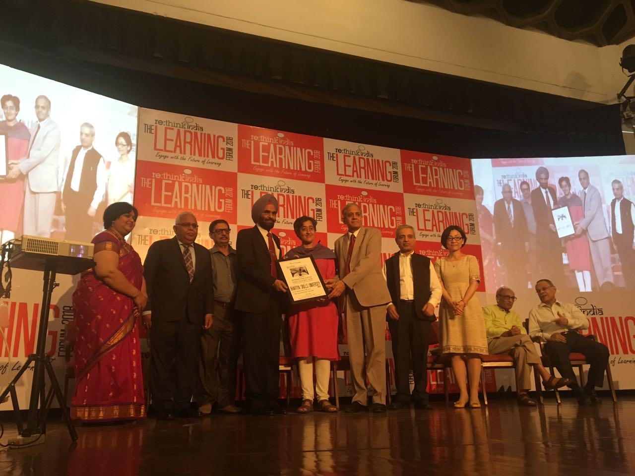 Bhartiya Skill Development University Receives Best University – Vocational Education Award