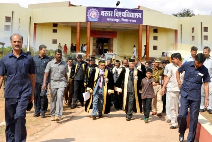 Bastar Vishwa Vidyalaya Jagadlpur recruiting 56 faculty posts