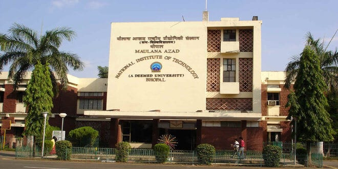 Ph.D. Admissions window opens by Maulana Azad National Institute of Technology, Bhopal (M.P.) Academic Session 2018-19