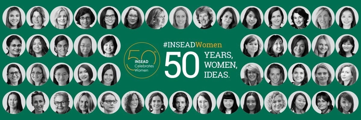 INSEAD Celebrates 50 Years of Women Leading Academic Excellence