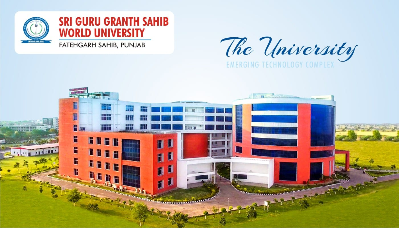 Sri Guru Granth Sahib World University Fatehgarh Sahib Ph.D Programme Admission 2018