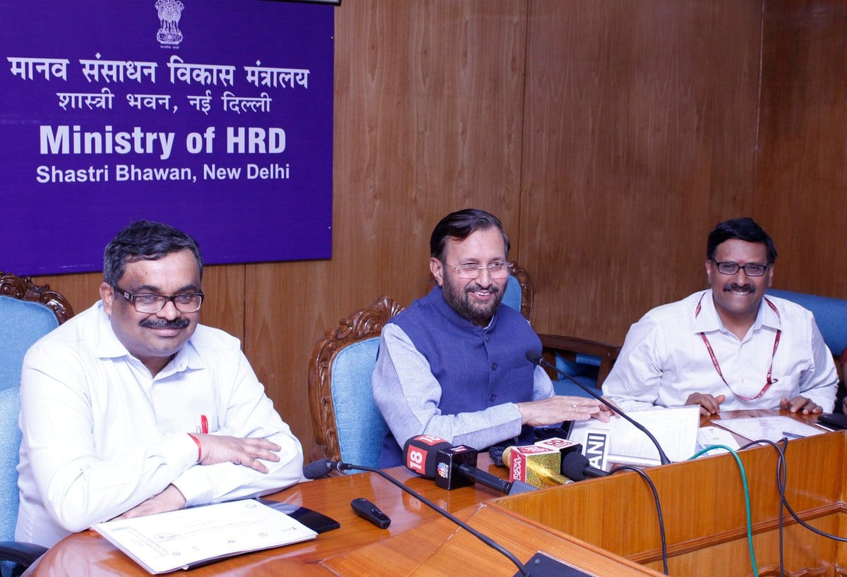 Grand Finale of the First Hardware edition of Smart India Hackathon 2018 to be held from June 18-22, 2018: Mr Prakash Javadekar