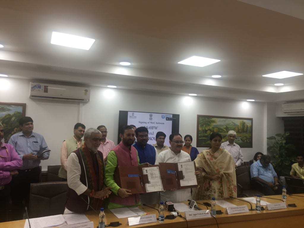 Ministry of Health signs anMoU with Indira Gandhi National Open University (IGNOU)