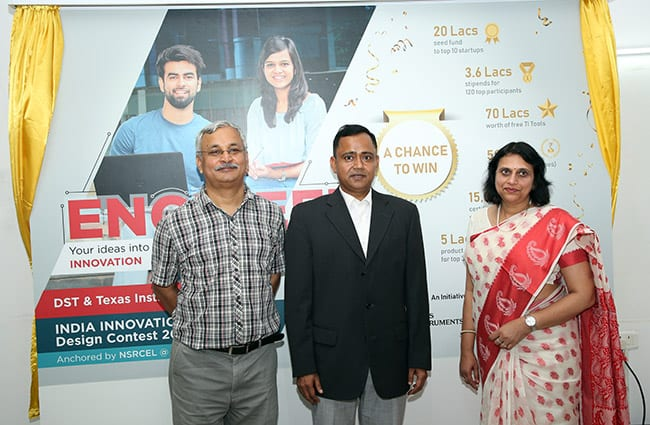 Texas Instruments and Ministry of Science and Technology announce India Innovation Challenge Design Contest (IICDC) 2018 offering INR 8.2 Crore as Start-up funding, Stipend, Tools and Prizes for Indian Engineering Students