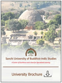 Sanchi University of Buddhist-Indic Studies' Entrance Examination for Admission to different programmes/courses for the academic session 2018-19.