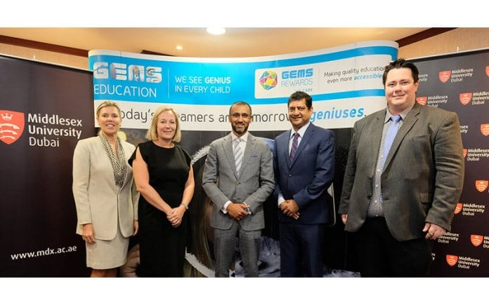 Middlesex University Dubai partners with GEMS Education
