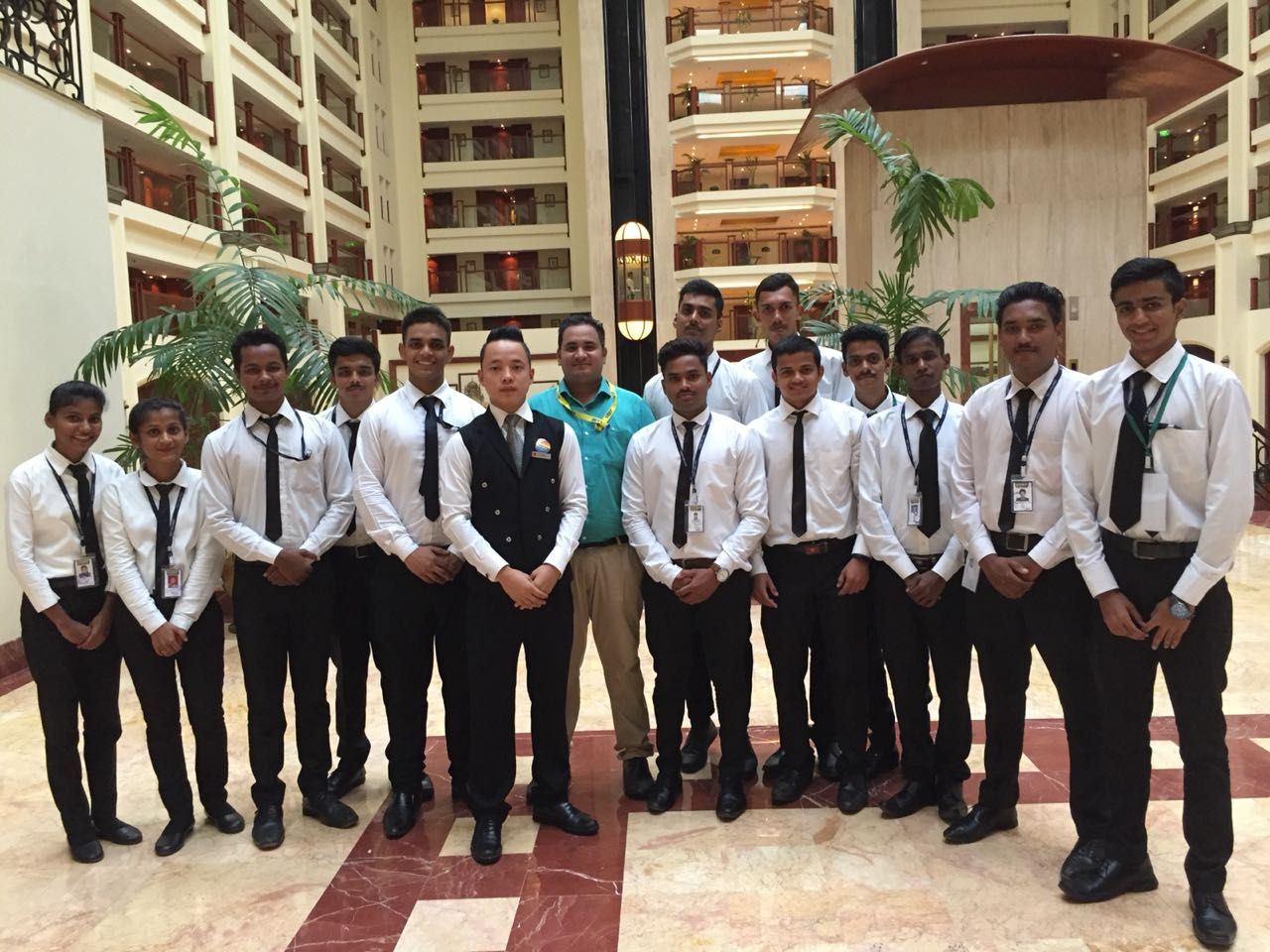 CEDP Skill Institute organise industrial visit to The Lalit Hotel Mumbai