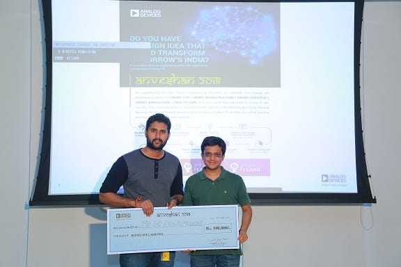 Analog Devices Felicitates Winners of Anveshan 2018 University Design Fellowship and Announces Launch of Anveshan 2019