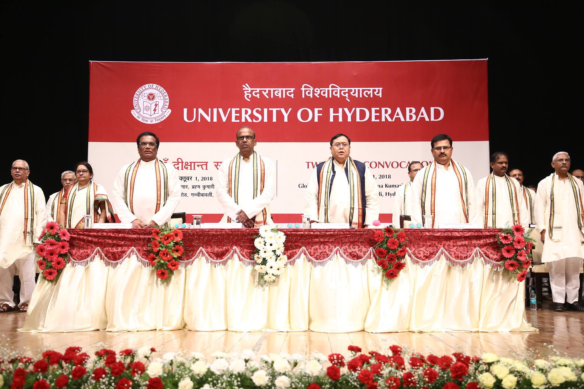University of Hyderabad invites applications for PhD Admission January 2019 for more than 100 seats