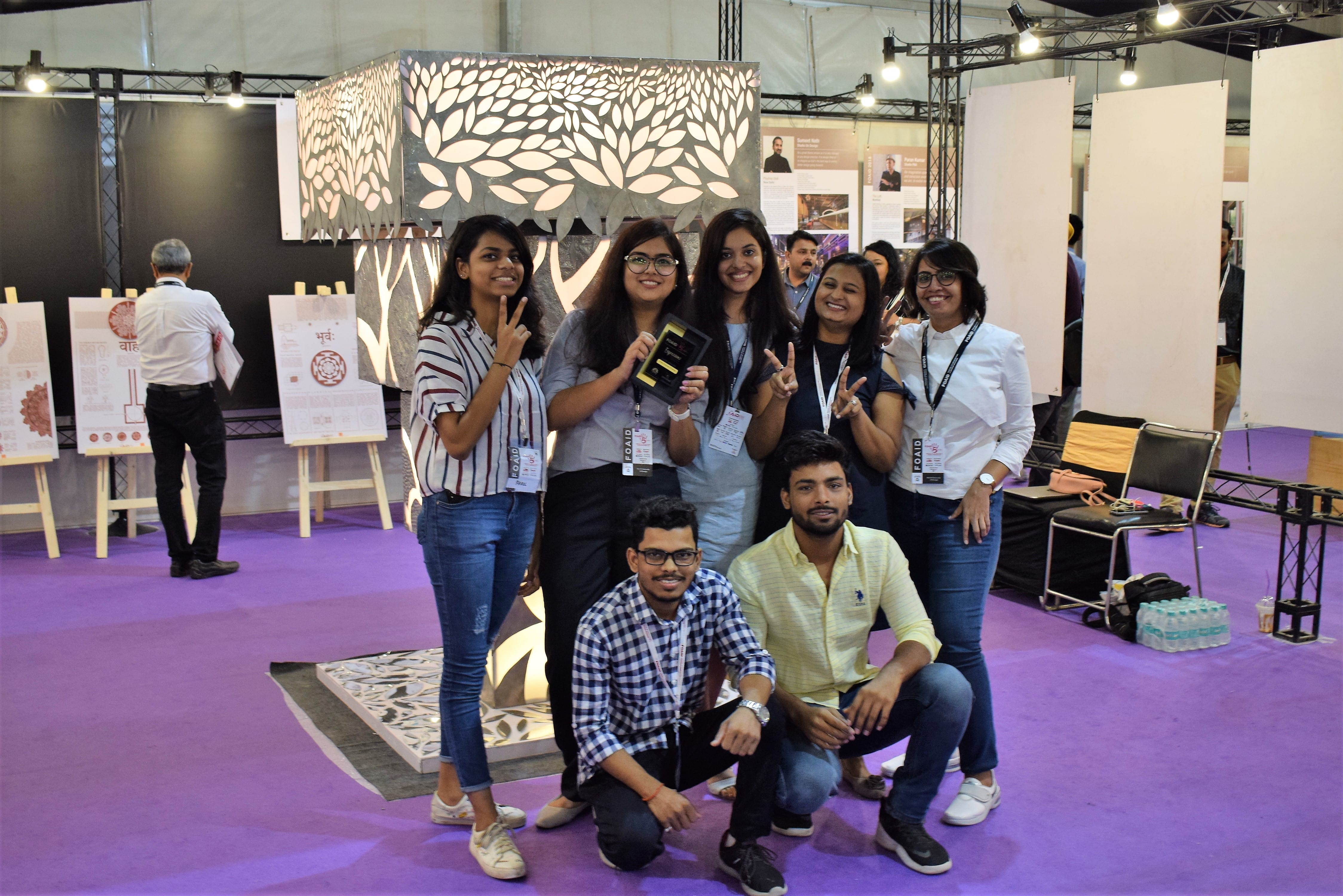 WUD students shine at 'Expressions' art competition at FOAID 2018