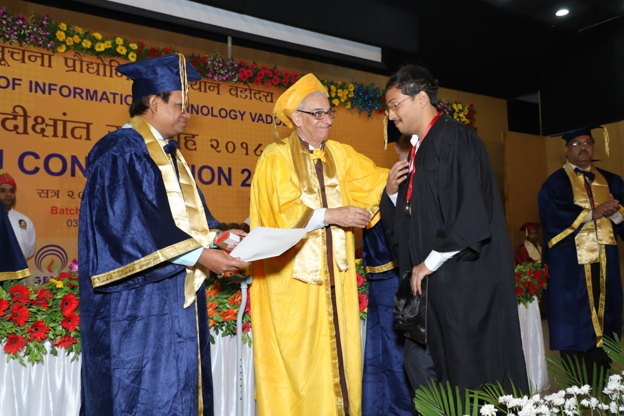 Indian Institute of Information Technology Vadodara Maiden Convocation