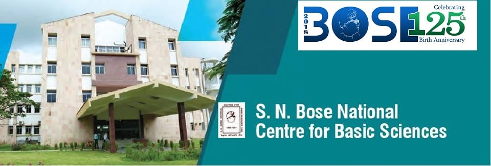 Mid Term Admission – 2018 PhD Programmes open in S N Bose National Centre for Basic Sciences Kolkata