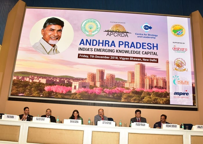 Andhra Pradesh Pitched to Become India's Knowledge Capital