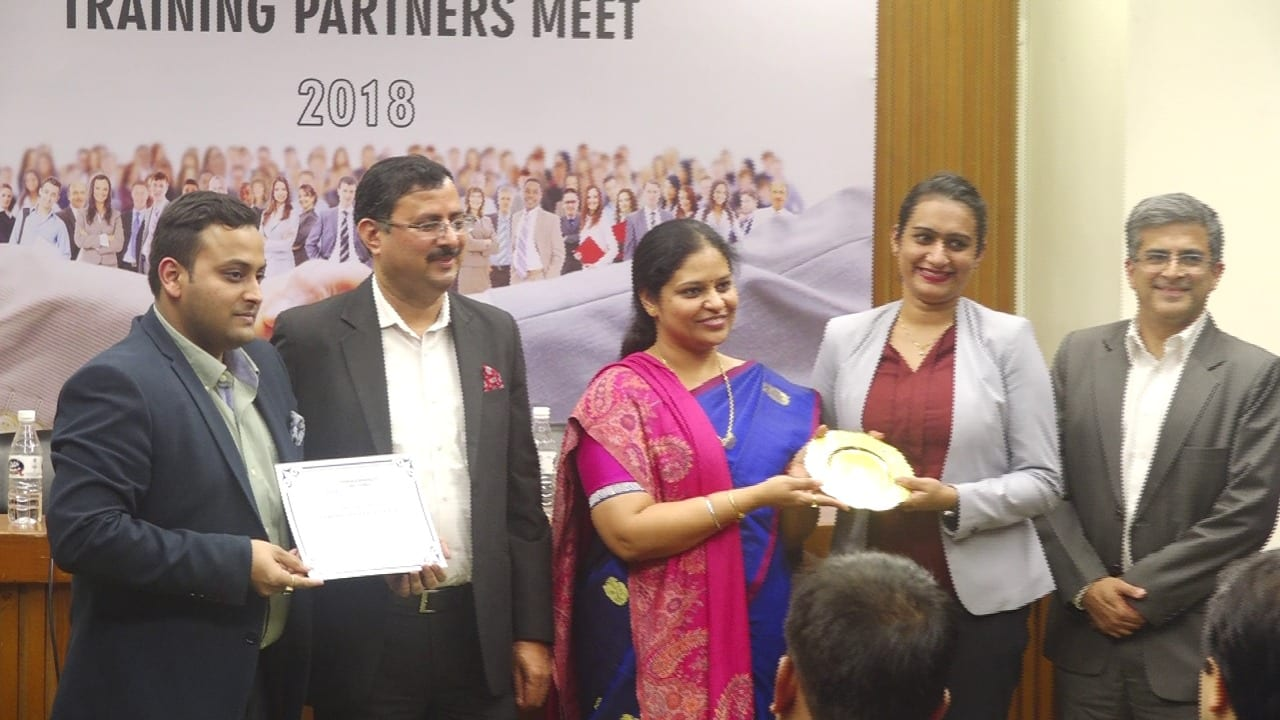 IL&FS Skills has been awarded the coveted recognition of being the Best Training Partner – Training by the Tourism and Hospitality Skill Council during their 2nd Annual Training Partners Meet in New Delhi