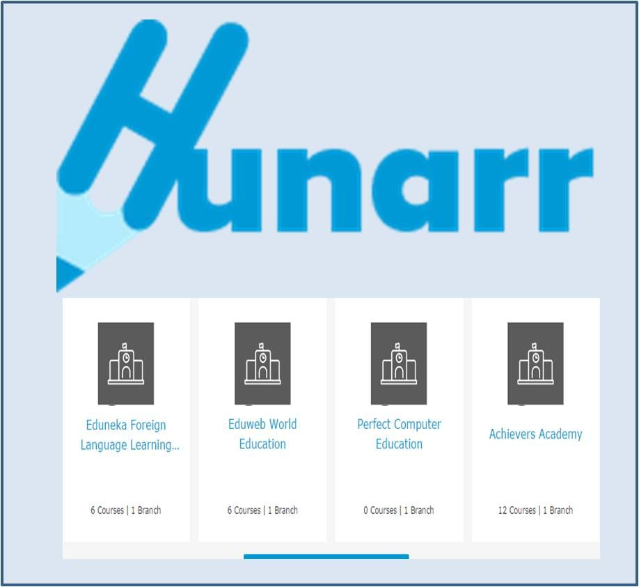 Training Aggregator: Hunarr an ideal destination for