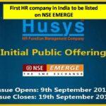 Husys IPO- Final Image