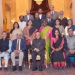 The President meets Ashoka Fellows