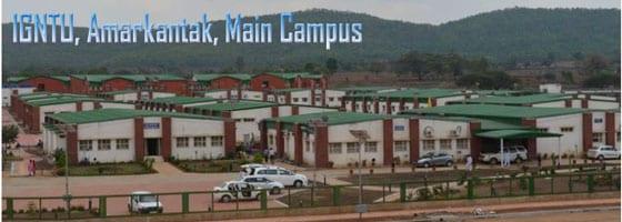 Indira Gandhi National Tribal University (IGNTU), Amarkantak hiring teaching posts for its 27 departments